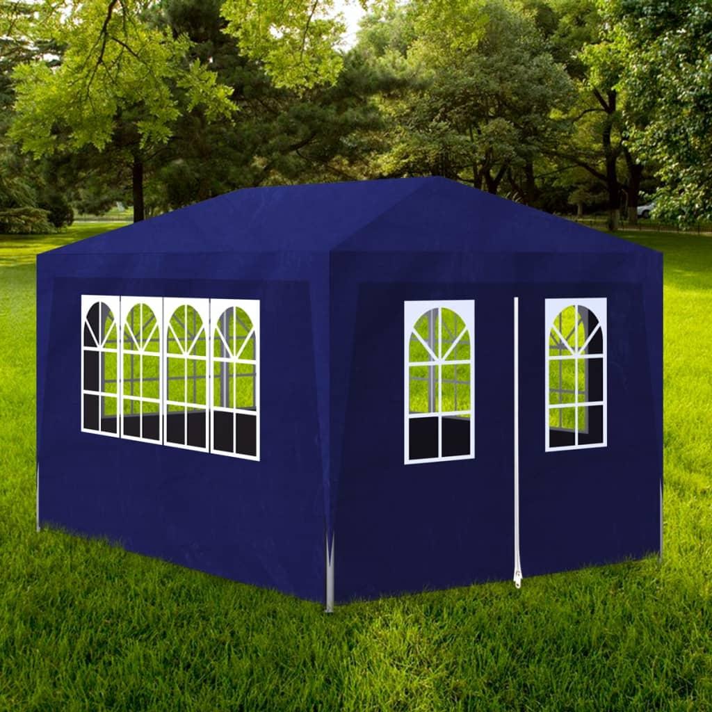 vidaxl tonnelle de jardin tente de r ception chapiteau. Black Bedroom Furniture Sets. Home Design Ideas