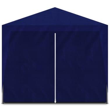 vidaXL Namiot imprezowy 3x6, 6 ścianek, niebieski [3/6]