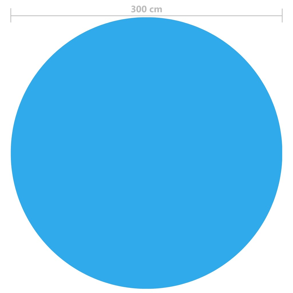 Zwembadfolie drijvend rond 300 cm for Afdekzeil action