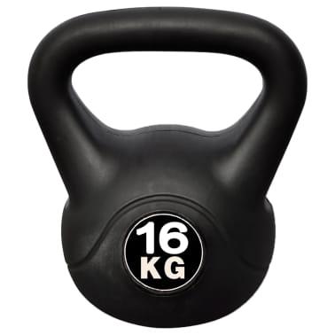 Kettlebell Kugelhantel Trainingshantel Gewicht 16KG[2/4]