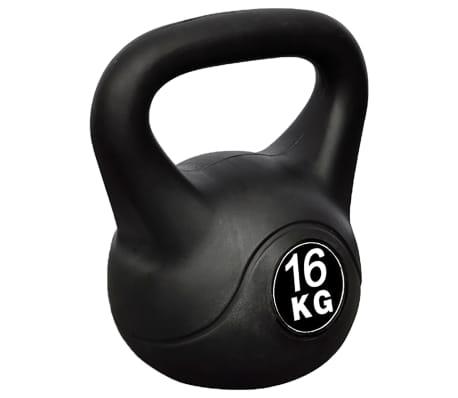 Kettlebell Kugelhantel Trainingshantel Gewicht 16KG