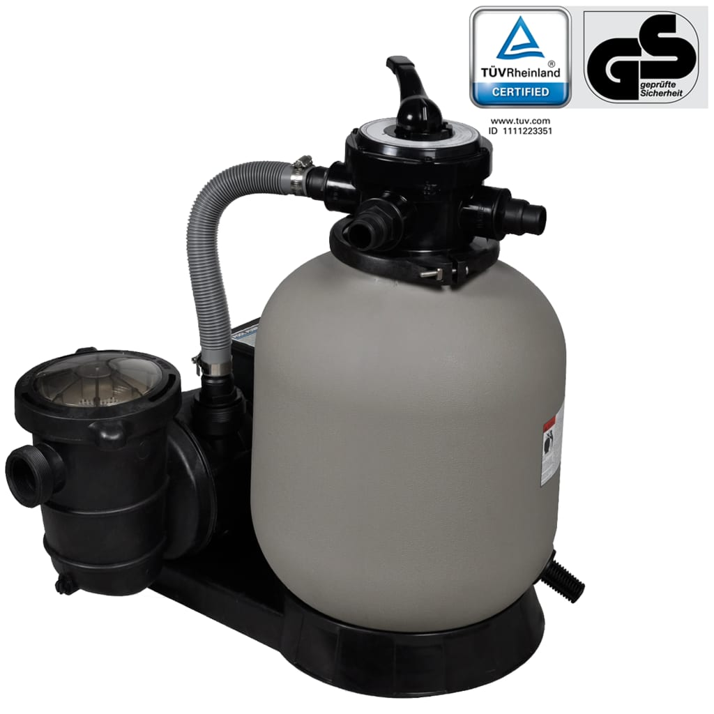 Sand filter with pool pump 35 cm - Sandfilterpumpe fur pool ...