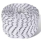 12mm x 50m Polyester Braided Core Rope Coil Boat Line