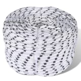 14mm x 50m Polyester Braided Core Rope Coil Boat Line