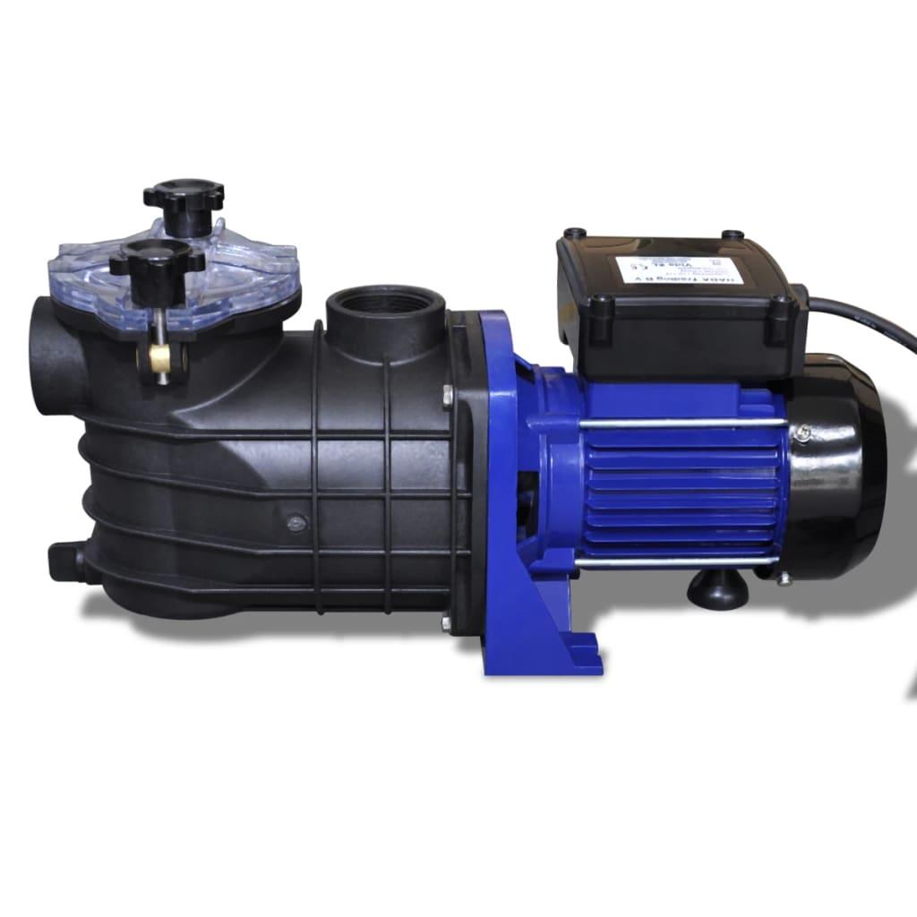 Pompa di filtrazione elettrica per piscina 500w blu - Pompa per piscina ...