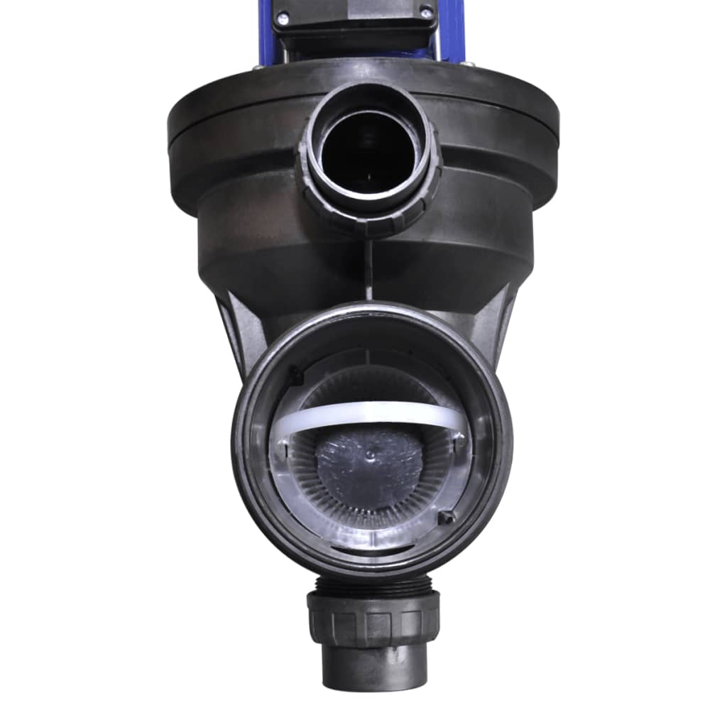 Pompa di filtrazione elettrica per piscina 800w blu for Pompa per piscina