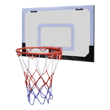 Indoor mini basketball hoop set with ball and pump - Panier de basket gonflable ...