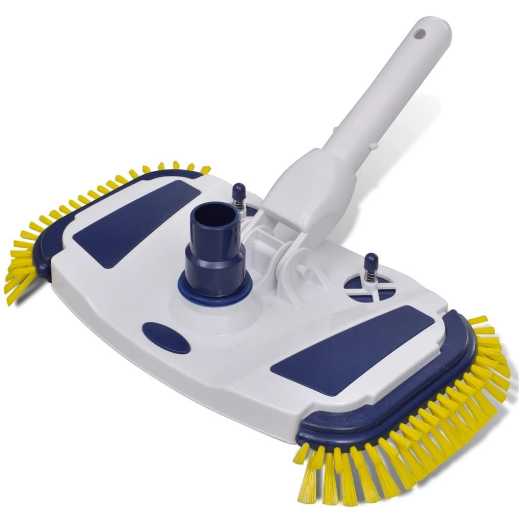 vidaXL Pool Vacuum Head Cleaner Brush