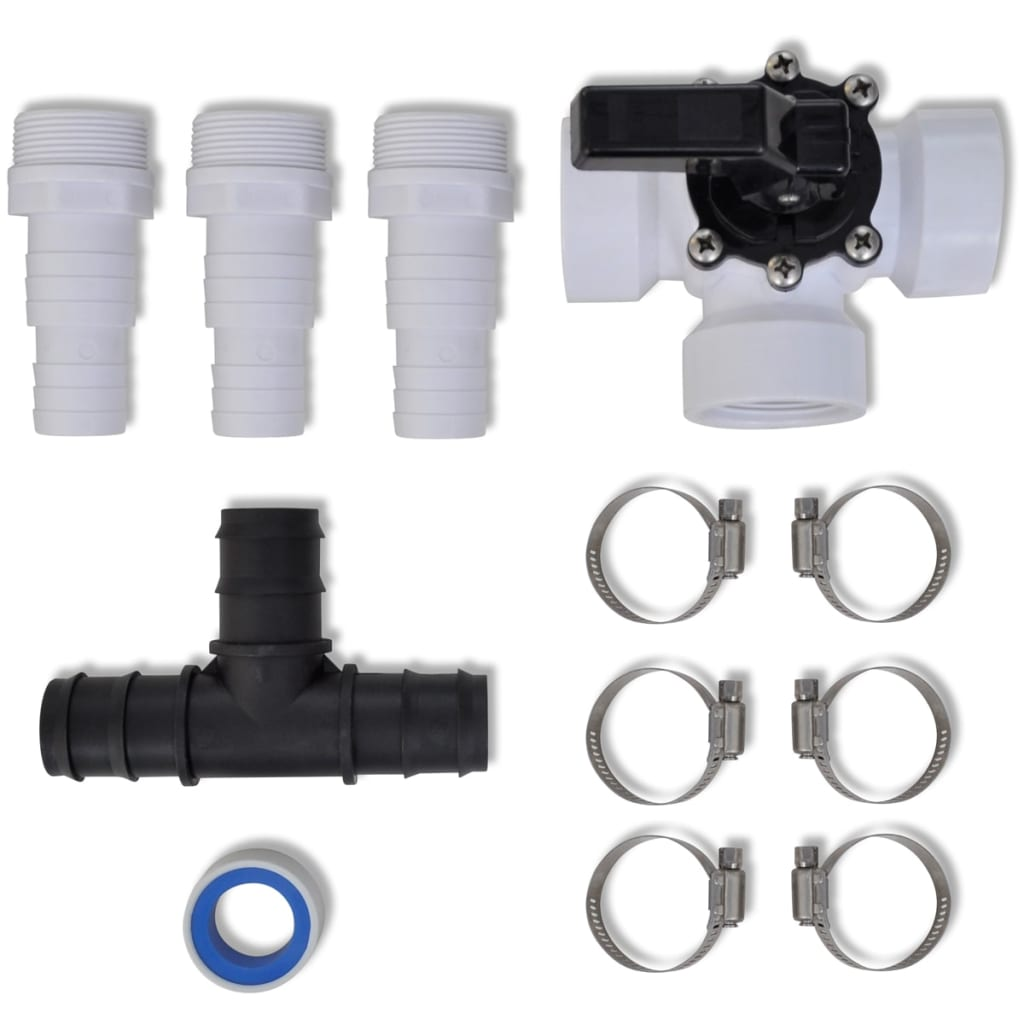 Bypass kit for pool solar heater for Kit piscine intex