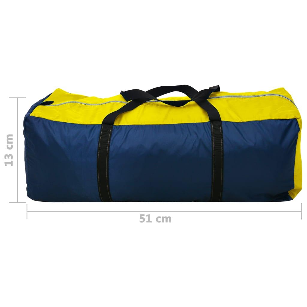 vidaXL-Tienda-de-Campana-4-Personas-Azul-Marino-Amarillo