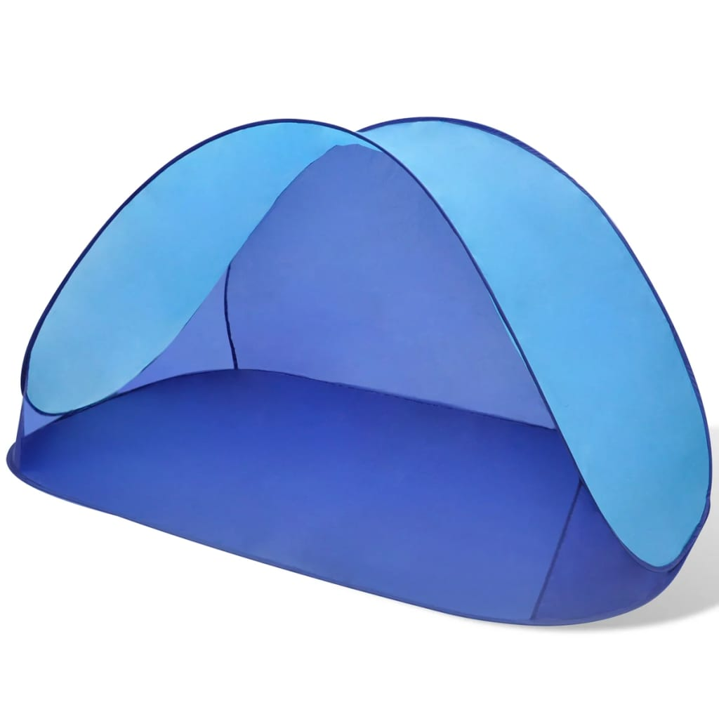 Acheter tente de plage pliante hydrofuge bleu clair pas cher - Tente de plage ikea ...