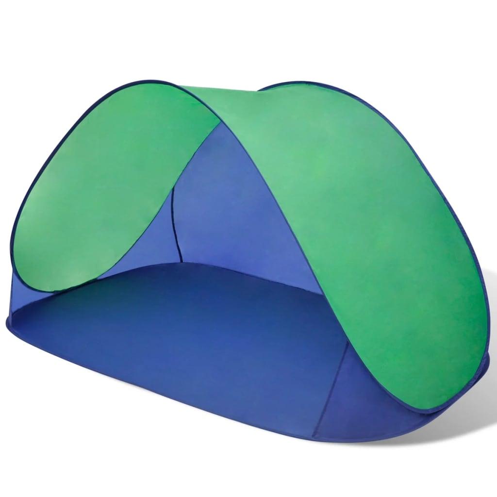 acheter tente de plage pliante hydrofuge vert pas cher. Black Bedroom Furniture Sets. Home Design Ideas