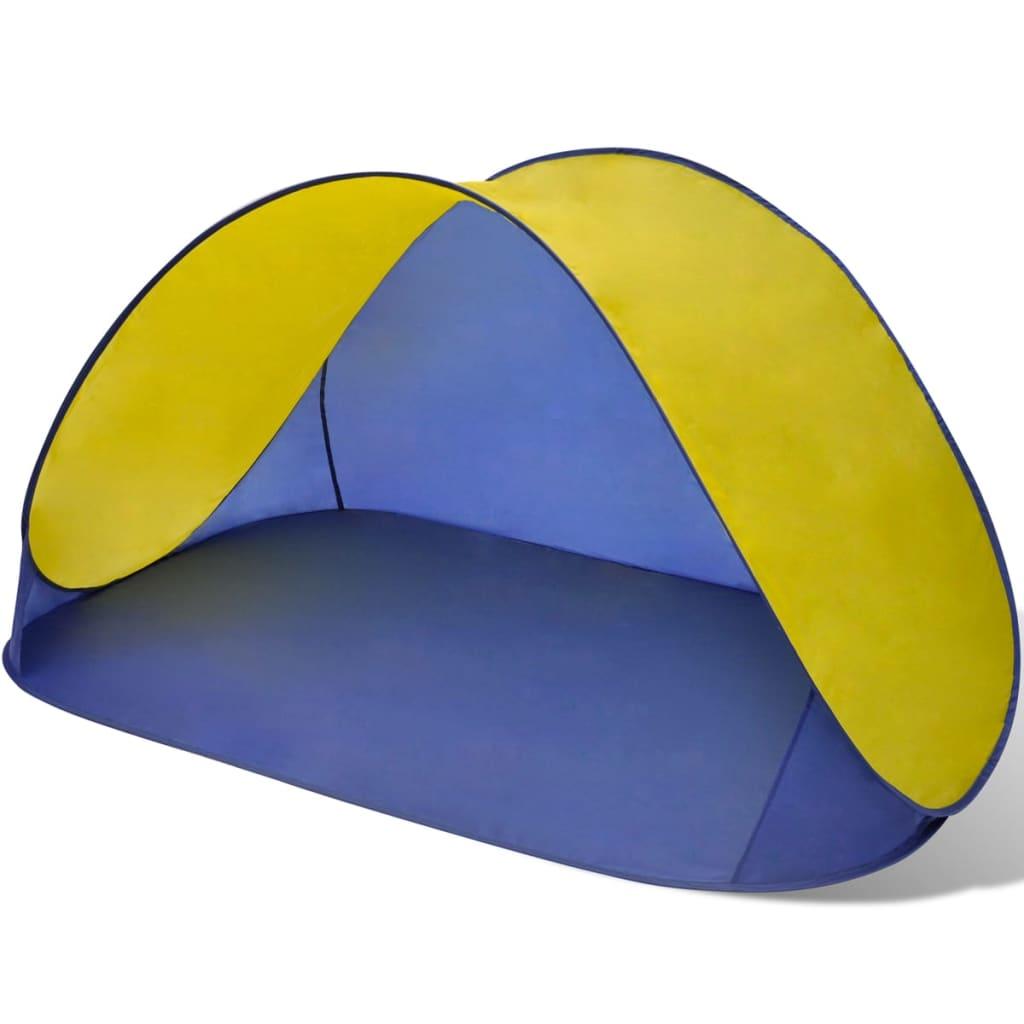 Acheter tente de plage pliante hydrofuge jaune pas cher - Tente de plage ikea ...