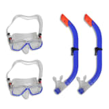 Diving Set Snorkel Mask for Kids 2 Sets