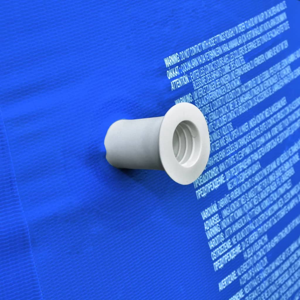 Round swimming pool with steel frame blue for Pool 300 x 120