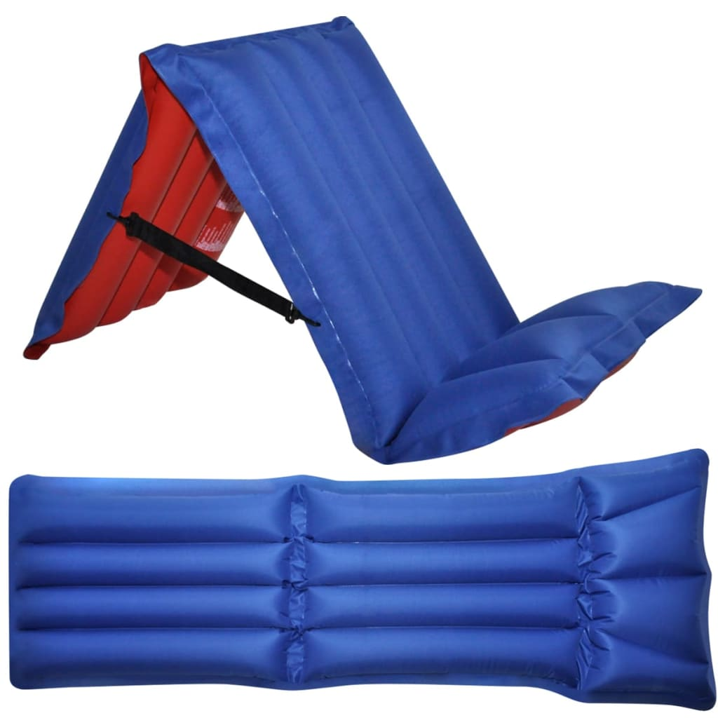 vidaXL Inflatable Air Mattress for Camping Foldable 178 x 69 cm