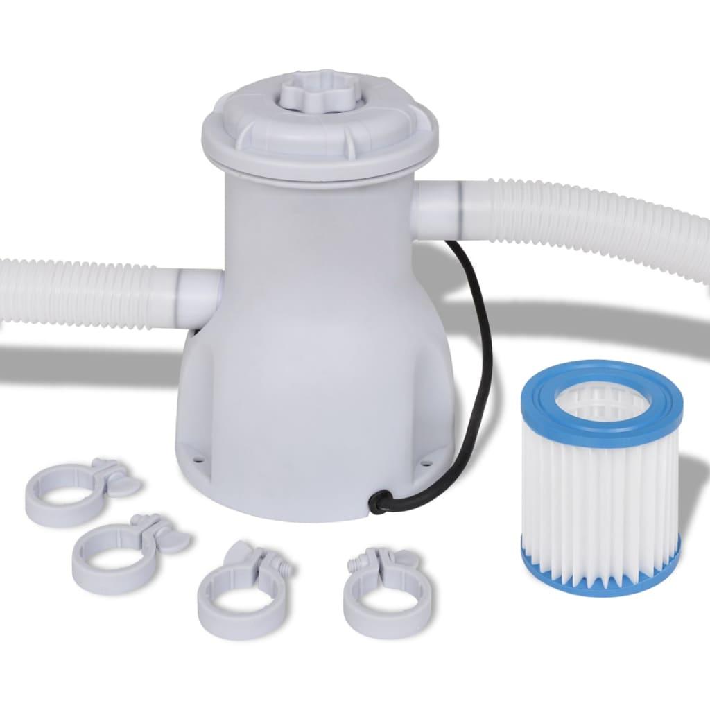 Bomba de filtro para piscina 300 gal h for Filtro piscina