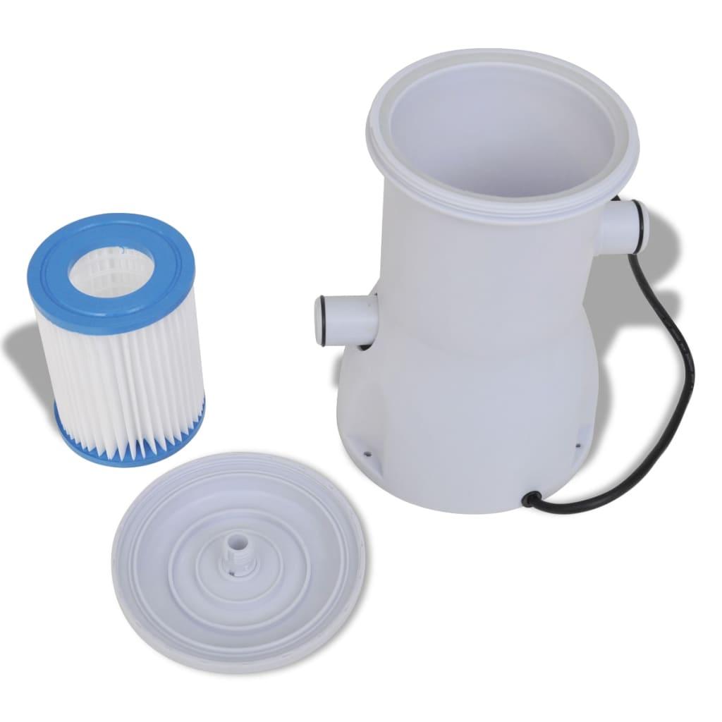 Der filterpumpe poolfilter filter pumpe pool 530 gal h for Pool filterpumpe obi