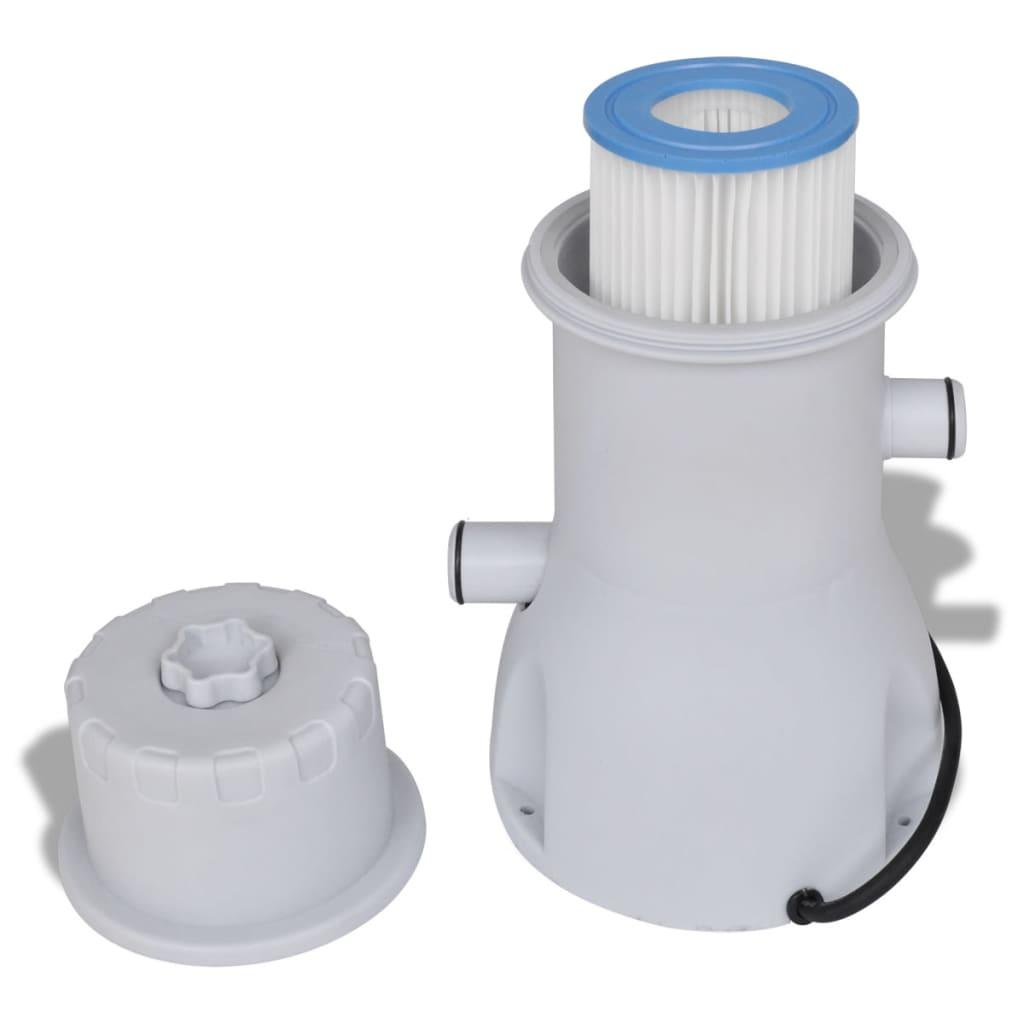 Filtro con pompa per piscina 3785 l h for Pompa per piscina