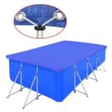 B?che Piscine en PE Rectangulaire 540 x 270 cm 90 g/mètre carré