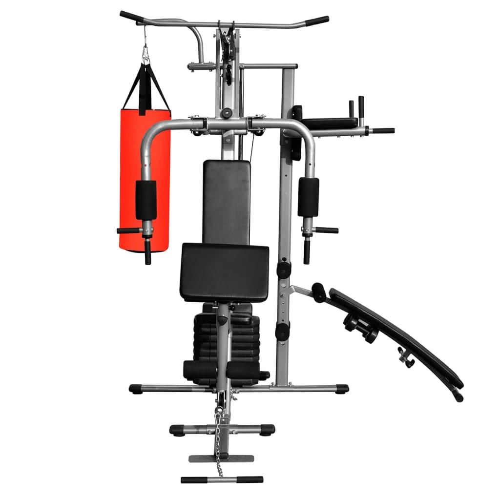 la boutique en ligne appareil de musculation multifonction avec 1 sac de frappe