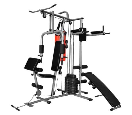Fitness Kraftturm Multifunktionaler Heimtrainer mit Boxsack