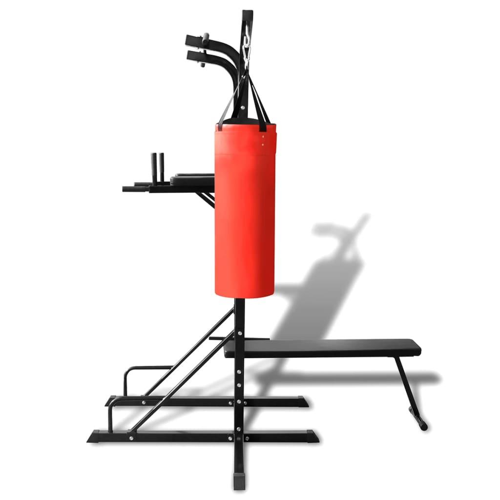 la boutique en ligne chaise romaine avec banc pour abdominaux et sac de frappe. Black Bedroom Furniture Sets. Home Design Ideas