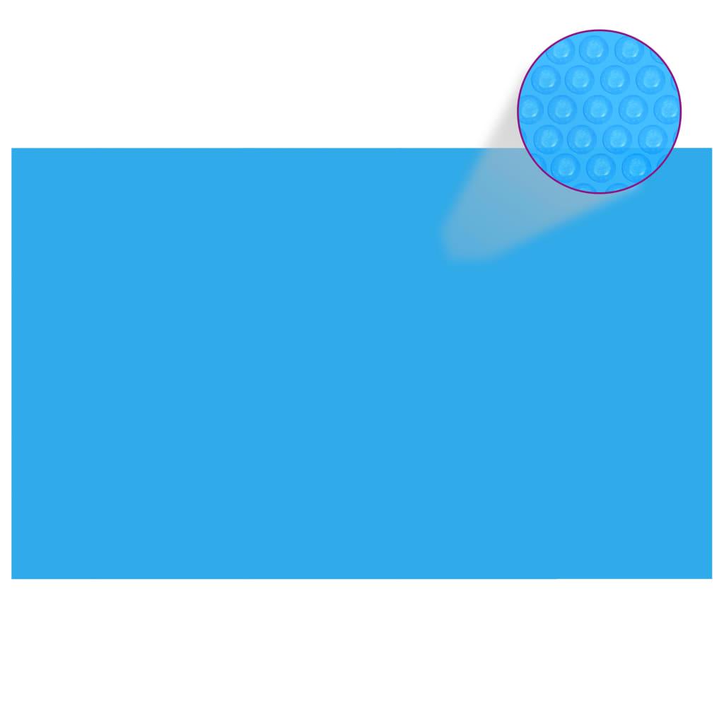 la boutique en ligne b che de piscine bleue rectangulaire en pe 260 x 160 cm. Black Bedroom Furniture Sets. Home Design Ideas