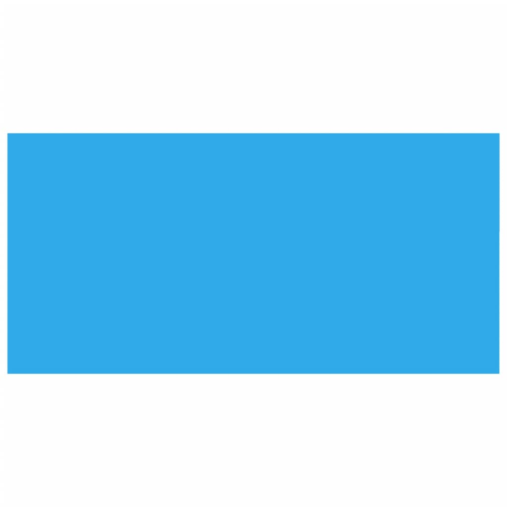 La boutique en ligne b che de piscine bleue rectangulaire for Bache de piscine