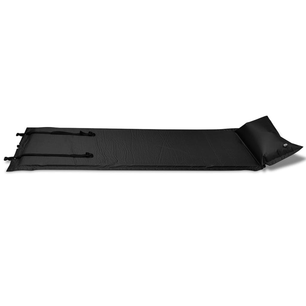 acheter matelas autogonflant noir 185 x 55 x 3 cm 1. Black Bedroom Furniture Sets. Home Design Ideas