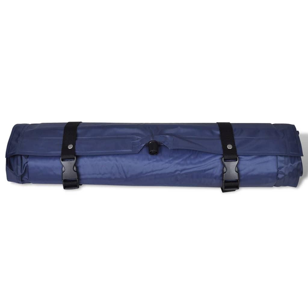 acheter matelas autogonflant bleu 185 x 55 x 3 cm 1 personne pas cher. Black Bedroom Furniture Sets. Home Design Ideas