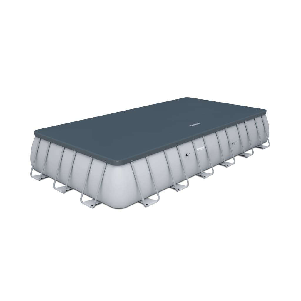 La boutique en ligne piscine rectangulaire bestway structure en acier 732x366 - Piscine bestway rectangulaire ...