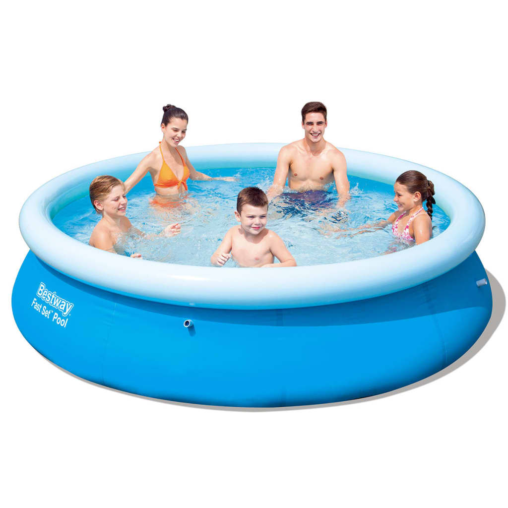 La boutique en ligne piscine gonflable ronde bestway fast for Piscine gonflable chauffante