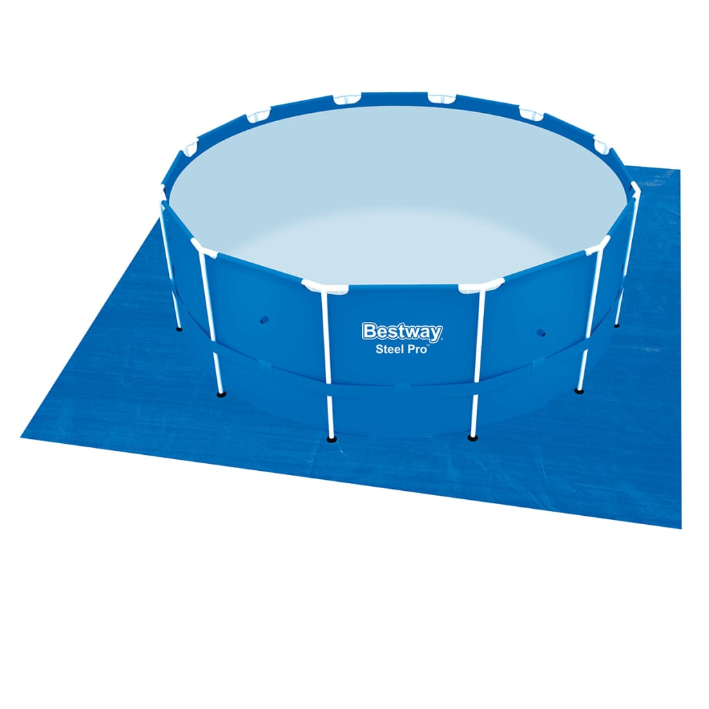 Der bestway hydrium stahlrahmen swimming pool set rund 360 for Angebote pool set