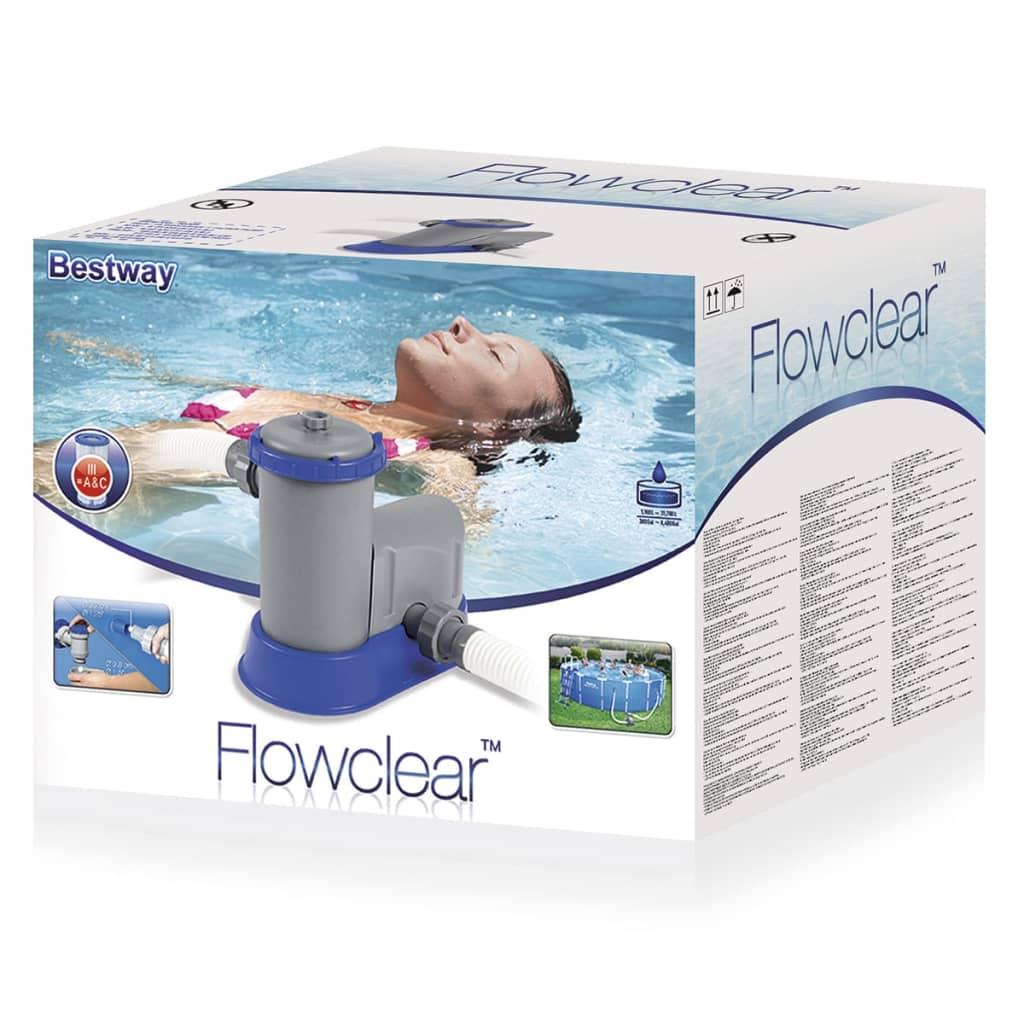 Acheter pompe de filtration pour piscine bestway flowclear for Filtration pour piscine a debordement