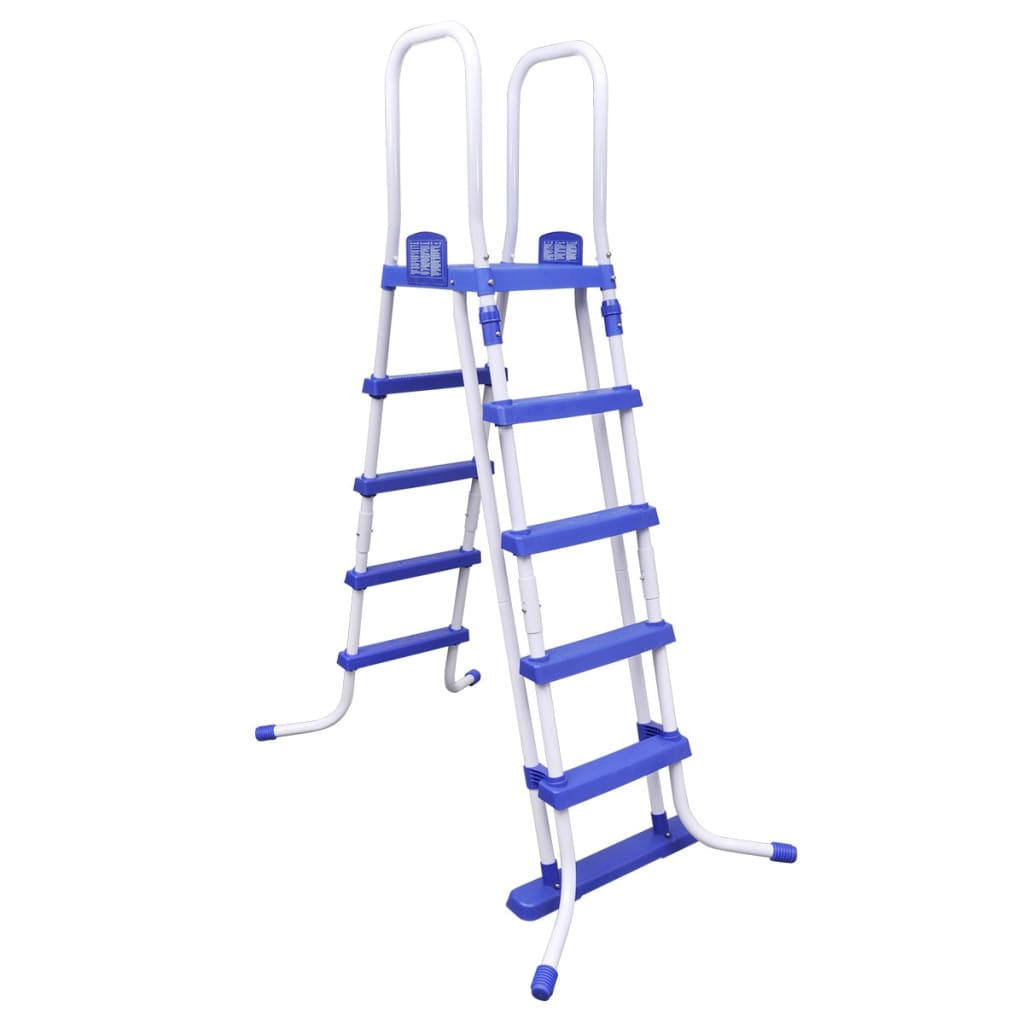 Bestway steel frame pool safety ladder 58332 for Bestway piscine service com