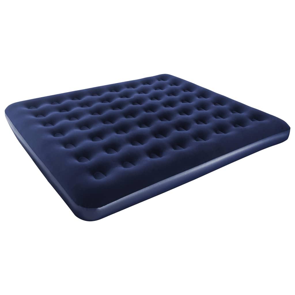 acheter matelas gonflable floqu 203 x 183 x 22 cm bestway 67004 pas cher. Black Bedroom Furniture Sets. Home Design Ideas