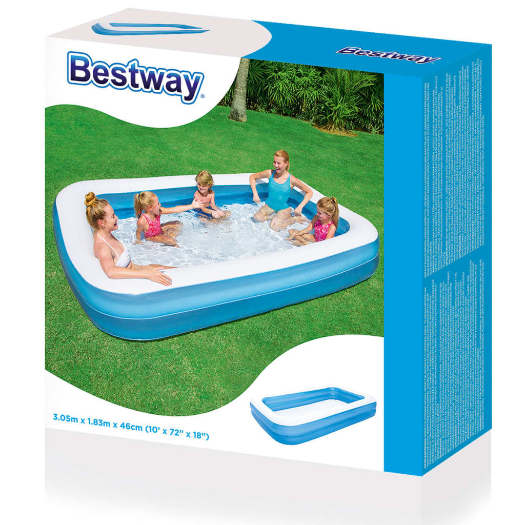 Bestway piscine gonflable autoportante piscine de jardin for Piscine de jardin gonflable