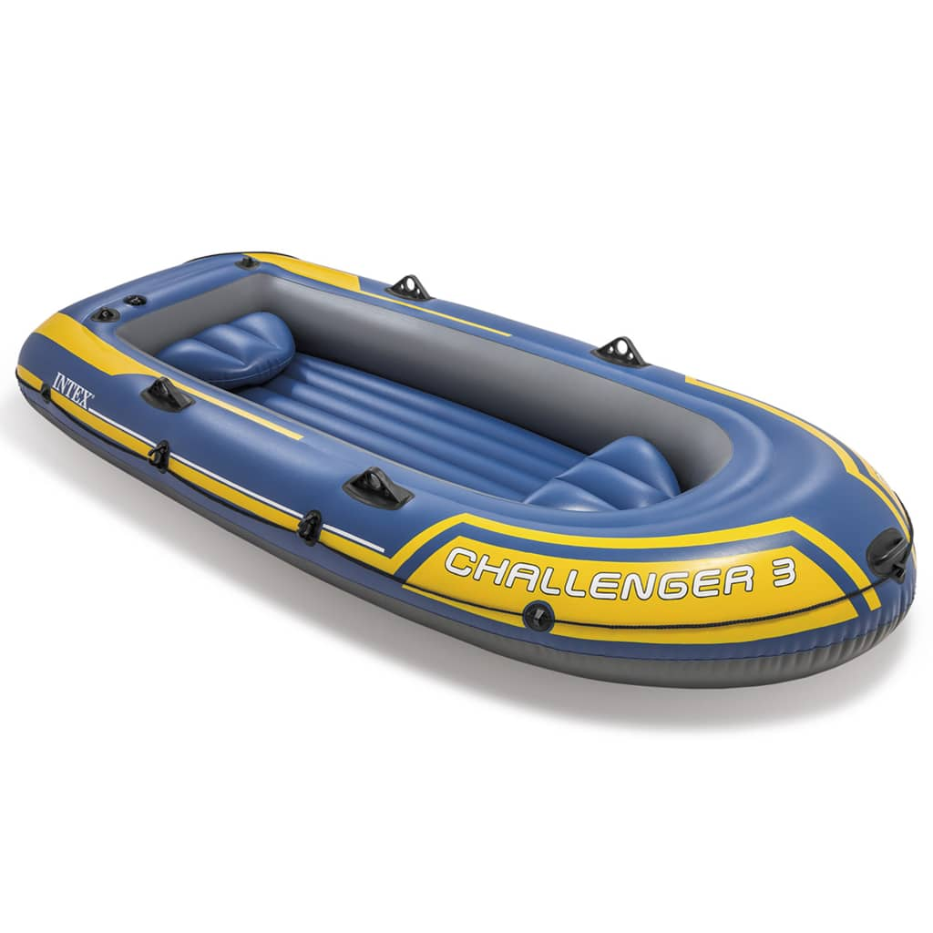 Intex challenger 3 set inflatable boat with for Intex webshop