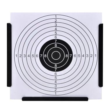 """5.5"""" Funnel Target Holder Pellet Trap + 100 Paper Targets[2/4]"""