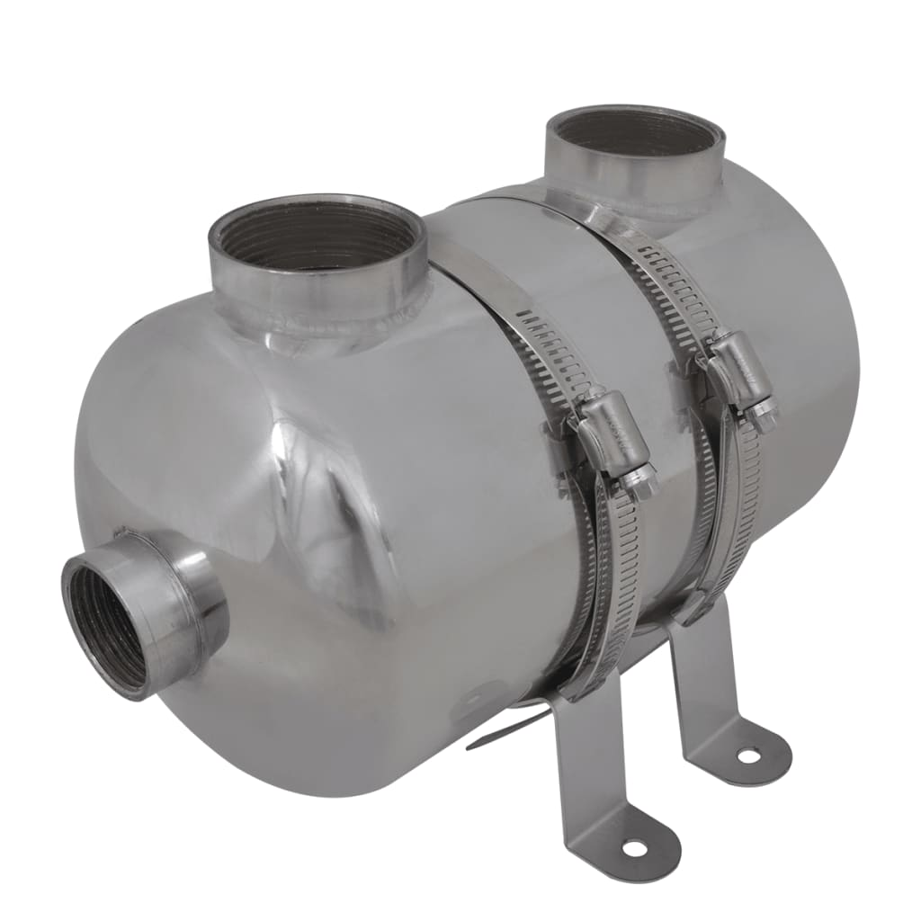 vidaXL Medence hőcserélő 292 x 134 mm 28 kW