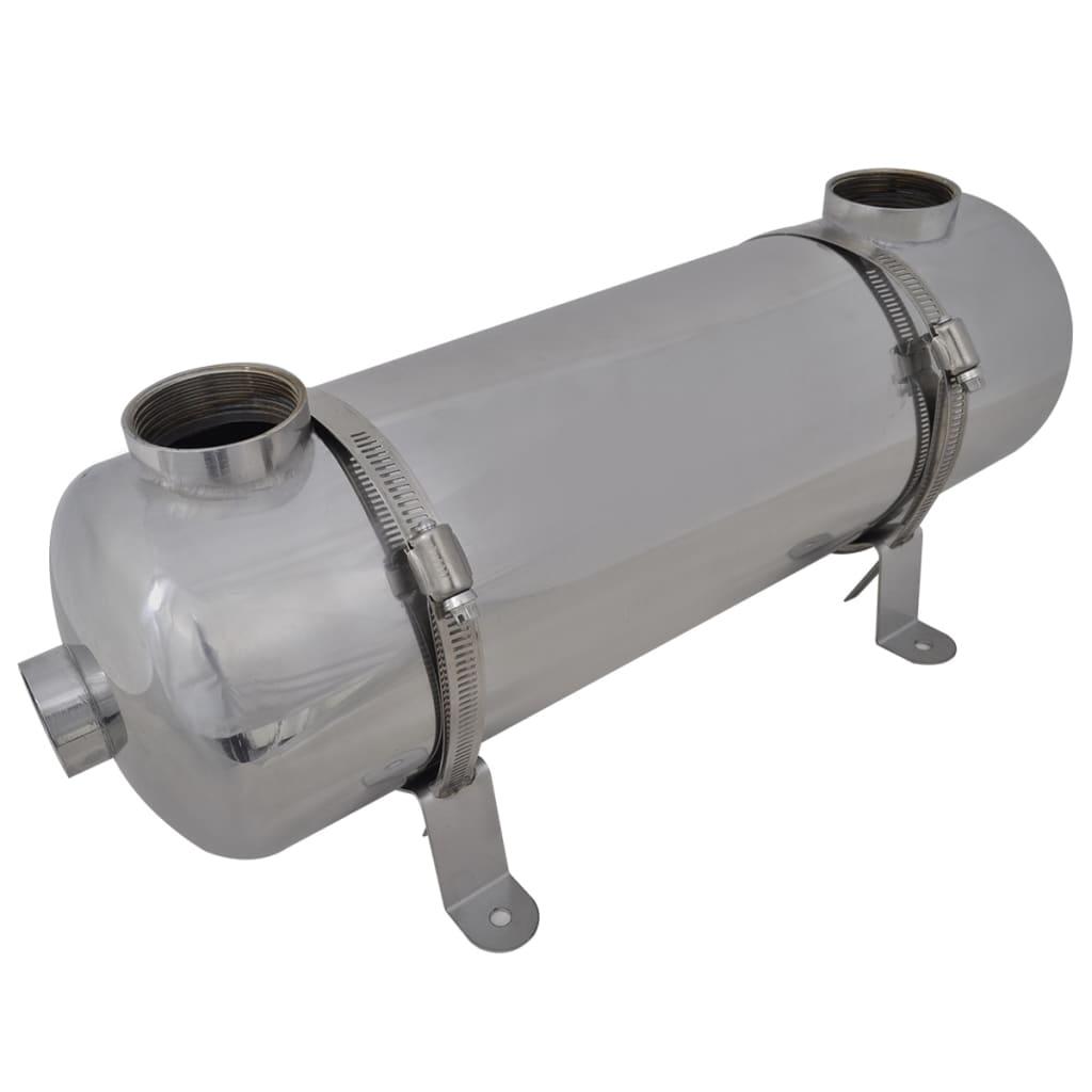 Poolvärmeväxlare 485 x 134 mm 60 kW