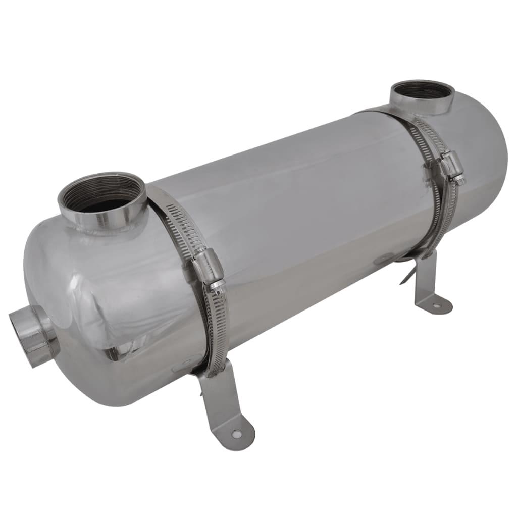 vidaXL Medence hőcserélő 485 x 134 mm 60 kW