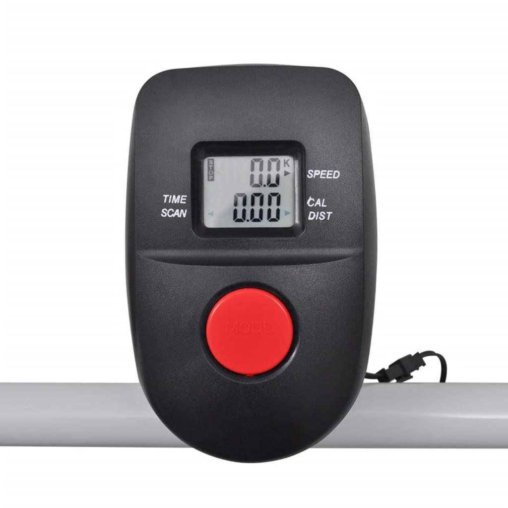 Vidaxl Co Uk Folding Mini Treadmill Running Machine 93 X