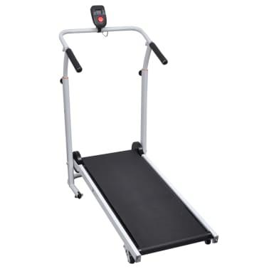 Folding Mini Treadmill Running Machine 93 x 36 cm Black[2/7]