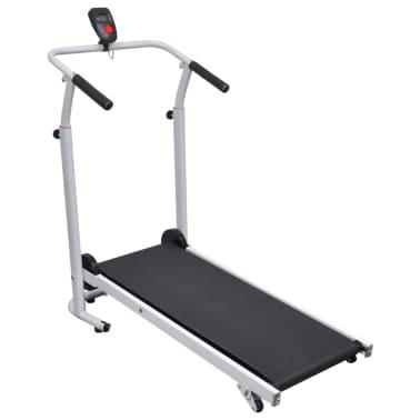 Folding Mini Treadmill Running Machine 93 x 36 cm Black[1/7]