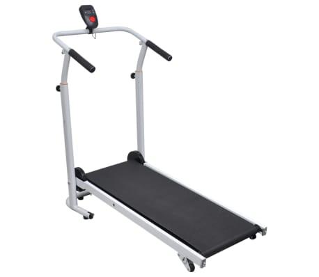 Folding Mini Treadmill Running Machine 93 x 36 cm Black