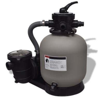 Sand Filter with Pool Pump 1