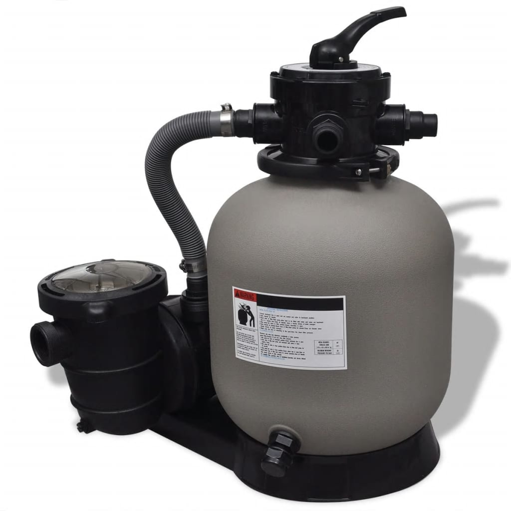 vidaXL Sand Filter with Pool Pump 1' 2''