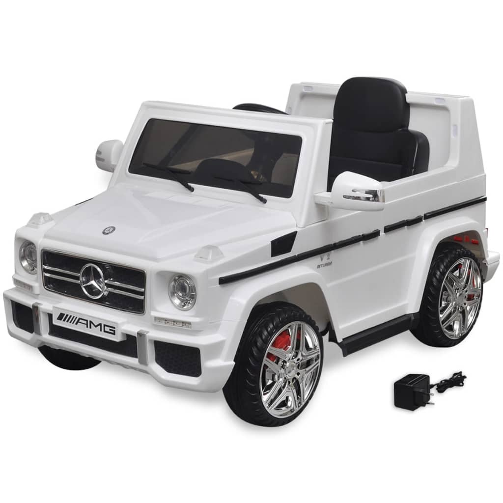 la boutique en ligne voiture suv lectrique mercedes benz g65 2 moteurs blanc. Black Bedroom Furniture Sets. Home Design Ideas